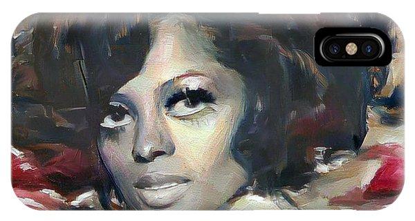 Diana Ross IPhone Case