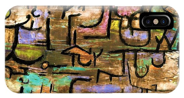Flooded iPhone Case - Digital Remastered Edition - After The Flood by Paul Klee