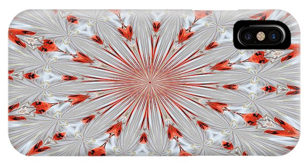 Digitalized Cardinal IPhone Case