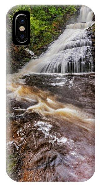 iPhone Case - Dingmans Water Falls Dwg by Susan Candelario