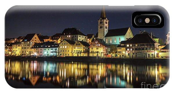 Dissenhofen On The Rhine River IPhone Case