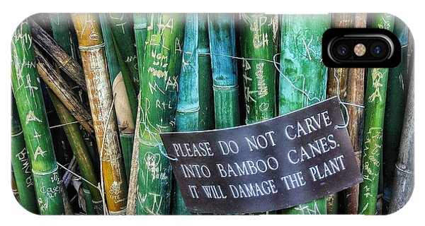 Do Not Carve IPhone Case