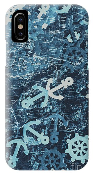 Navigation iPhone Case - Docks And Ports by Jorgo Photography - Wall Art Gallery