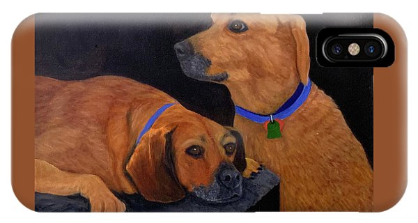 Dog Love IPhone Case