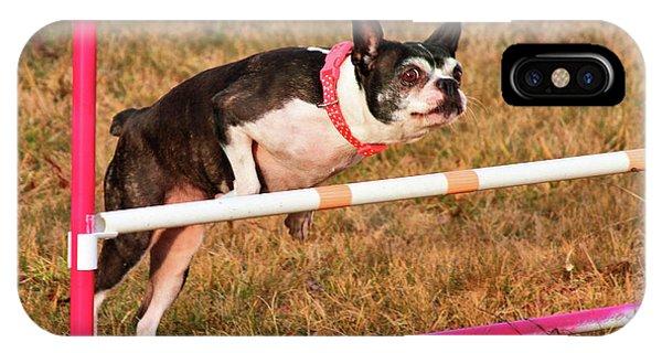Doggie Agility  IPhone Case