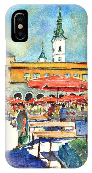 Dolce Market In Zagreb #1 IPhone Case