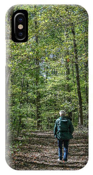 Donna At Heron Pond IPhone Case