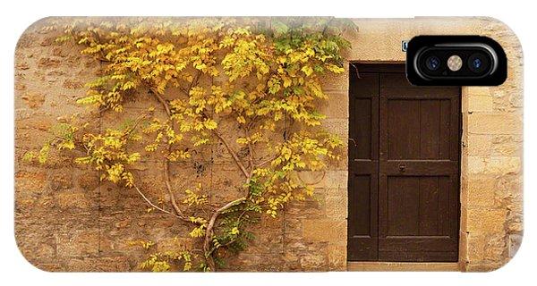 Doorway, Sarlat, France IPhone Case