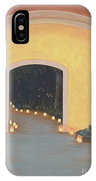 New Mexico iPhone Case - Doorway To The Festival Of Lights by Aicy Karbstein