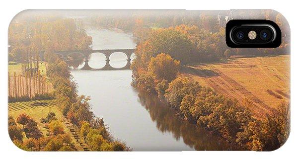 Dordogne River In The Mist IPhone Case