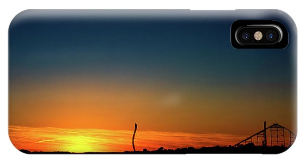 Dorney Park Sunset IPhone Case