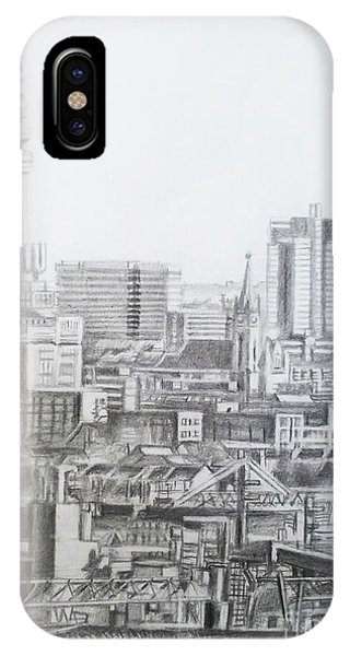 Borussia Dortmund iPhone Case - Dortmund City- Germany by Mohammad Hayssam Kattaa