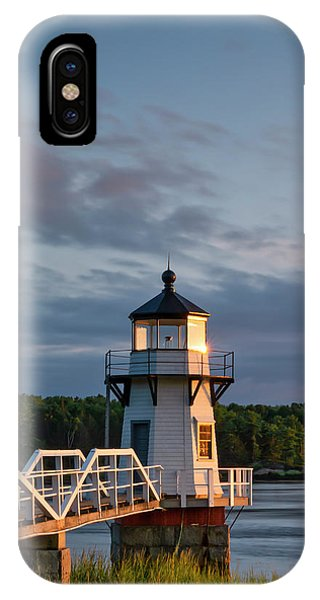 Doubling Point Light IPhone Case