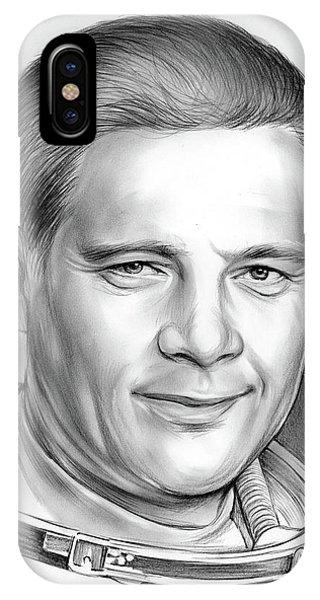 Nasa iPhone Case - Doug Wheelock by Greg Joens