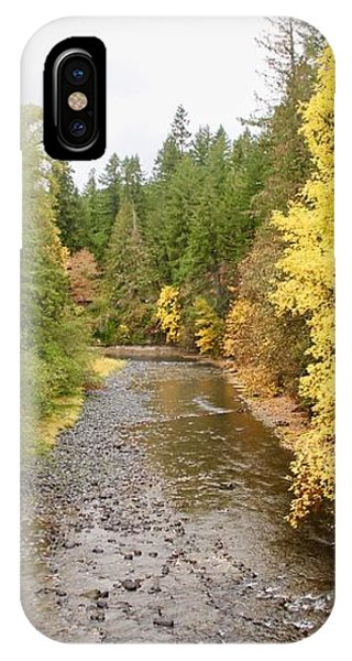 IPhone Case featuring the photograph Down The Molalla by Brian Eberly