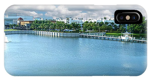 Downtown At The Gardens Mall Palm Beach Florida C2 IPhone Case