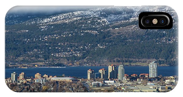 Downtown Kelowna From Dilworth IPhone Case