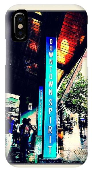 Downtown Spirit, Kentucky Soul IPhone Case