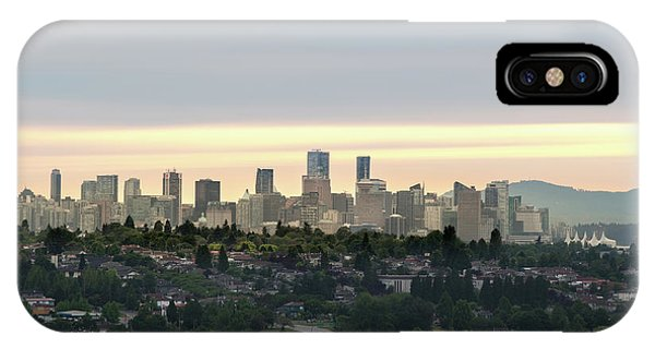 Downtown Sunset IPhone Case