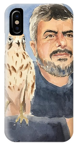 Dr Yoossef And Hawk IPhone Case