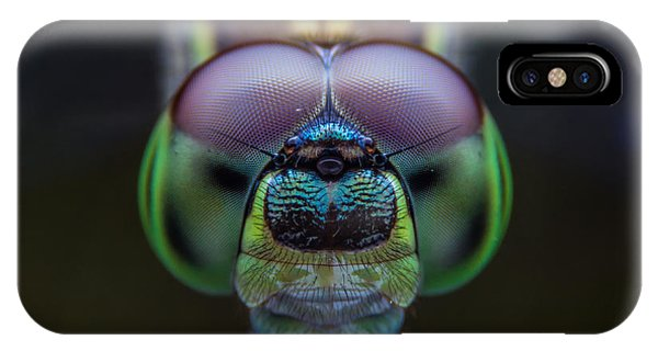 Small iPhone Case - Dragonflies, Insects, Animals, Focus On by Khlungcenter
