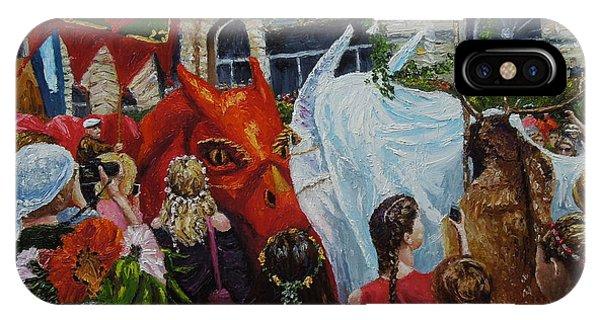 Dragons Glastonbury Event IPhone Case