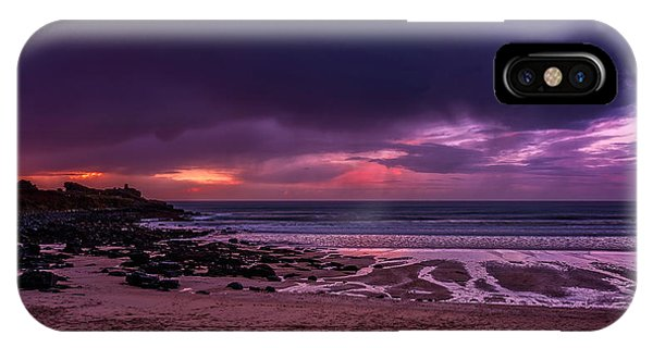 Dramatic Sky At Porthmeor IPhone Case