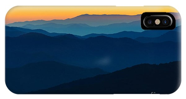 Us National Parks iPhone Case - Dramatic Sunrise At Great Smokey by Zack Frank