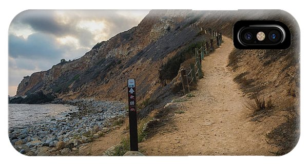 Dramatic Tovemore Trail IPhone Case