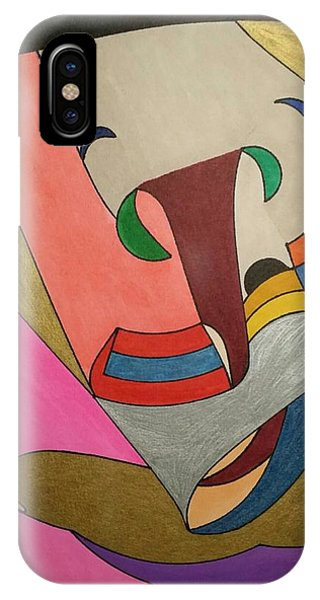 IPhone Case featuring the painting Dream 337 by S S-ray