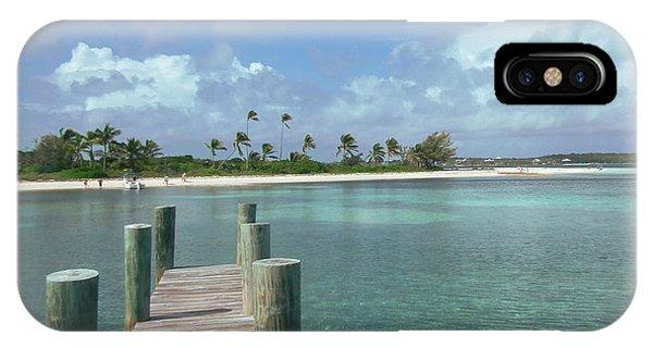 Dreamy View Beach IPhone Case