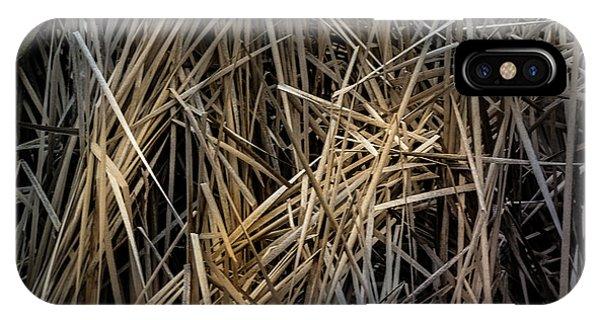 Dried Wild Grass IIi IPhone Case
