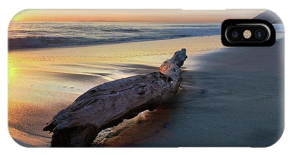 Drift Wood At Sunset II IPhone Case