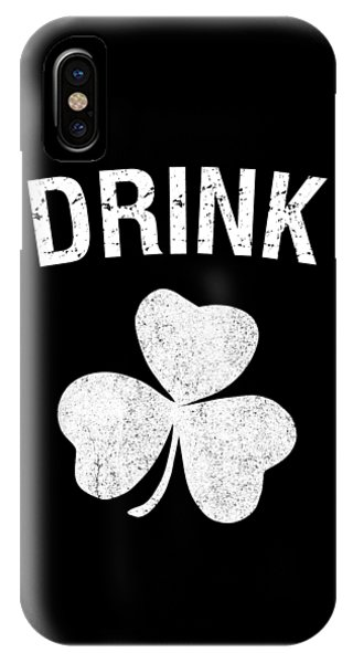 St. Patricks Day iPhone Case - Drink St Patricks Day Group by Flippin Sweet Gear