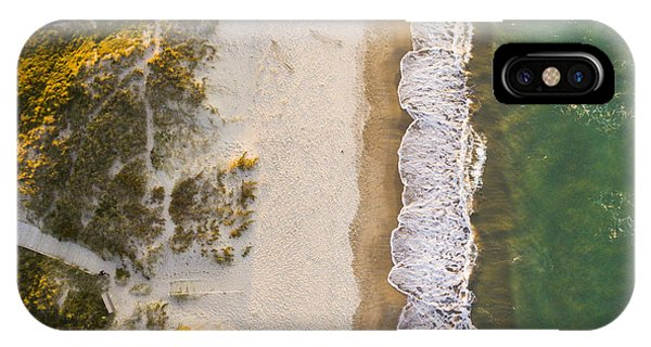 Egyptian iPhone X Case - Drone Shot. Aerial Photography. East by Ondrejsustik