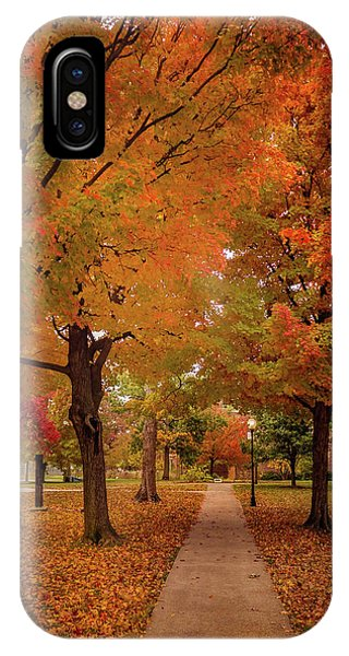 IPhone Case featuring the photograph Drury Autumn by Allin Sorenson