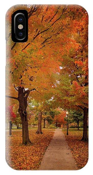 Drury Autumn IPhone Case
