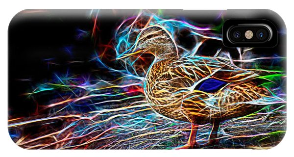 Ducks On Shore Wizard IPhone Case