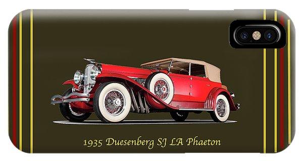 Duesenberg 1935 IPhone Case