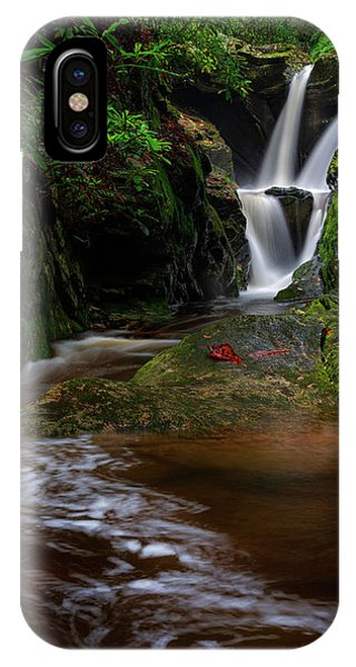 Duggers Creek Falls - Blue Ridge Parkway - North Carolina IPhone Case