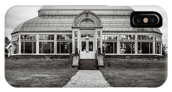 IPhone Case featuring the photograph Duke Farms Conservatory by Steve Stanger