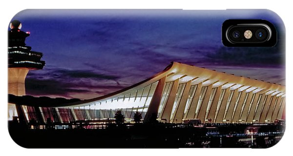 Dulles International IPhone Case
