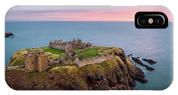 Imposing iPhone Case - Dunnottar Sunrise by Dave Bowman