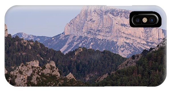IPhone Case featuring the photograph Dusk At Pena Montanesa by Stephen Taylor