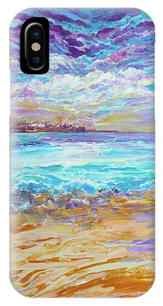 Dusk At The Beach IPhone Case