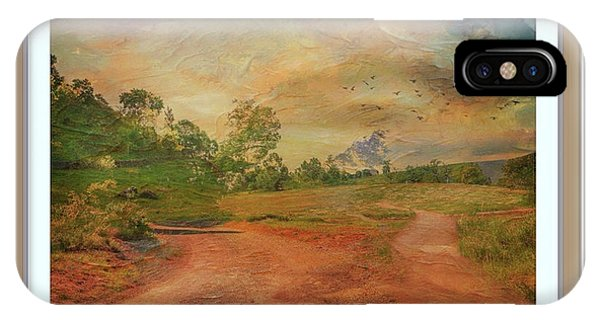 Dusk In The Hills IPhone Case
