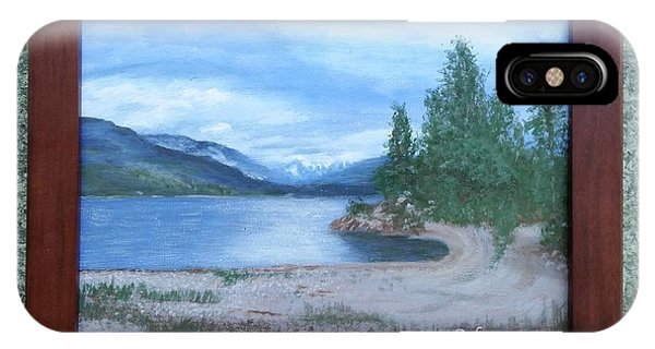 Dutch Harbour, Kootenay Lake IPhone Case