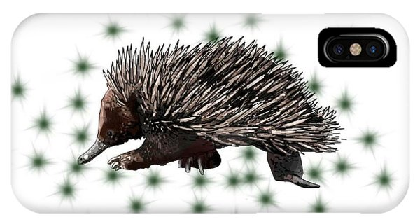 E Is For Echidna IPhone Case