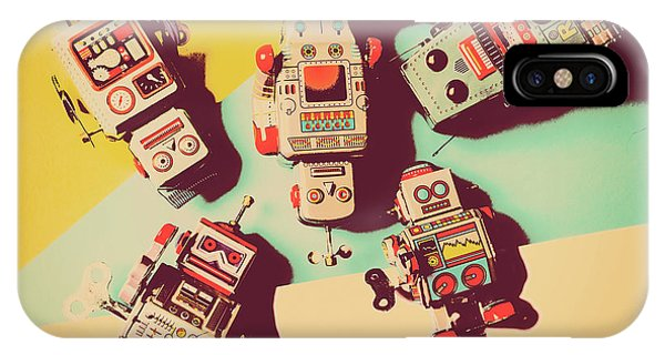Robot iPhone Case - E-magination by Jorgo Photography - Wall Art Gallery
