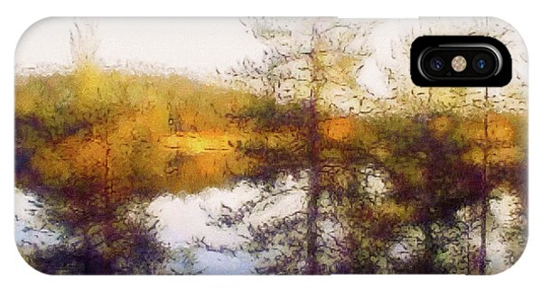 Early Autumn In Finland IPhone Case